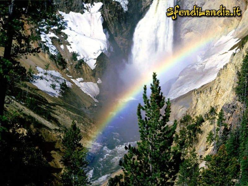 Arcobaleno montano