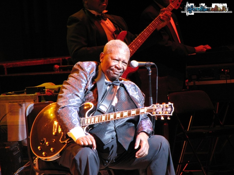 B.B.King in concert