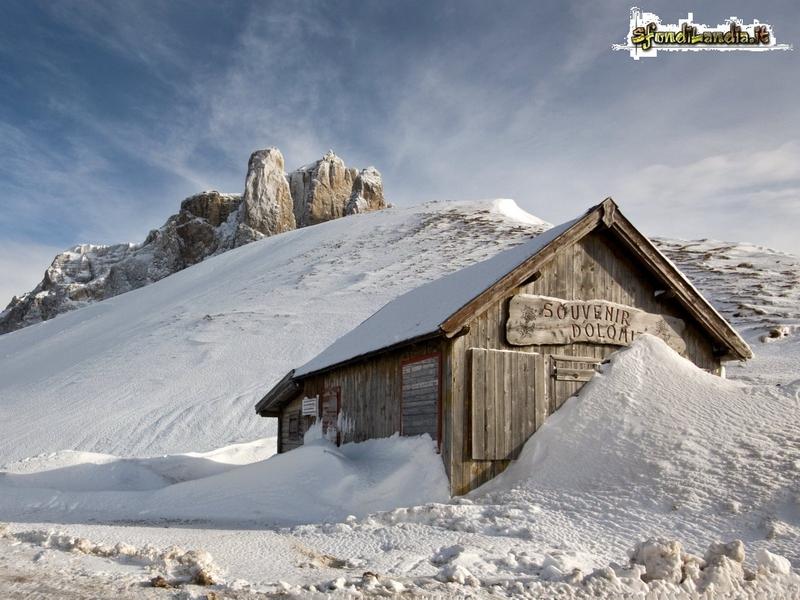 Baita sulle Dolomiti
