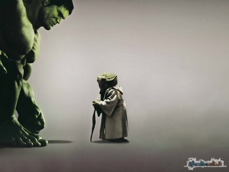 Hulk Vs The Force