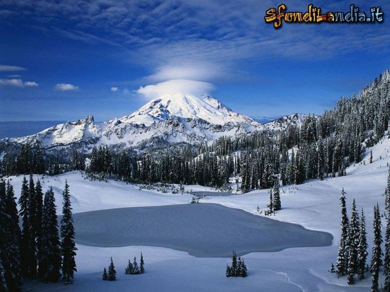 Il lago e la cima