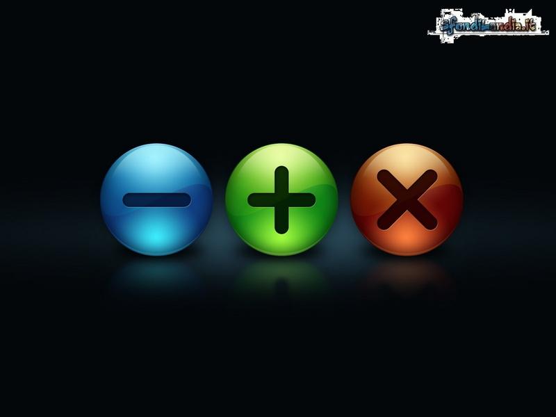 Mathematics Buttons