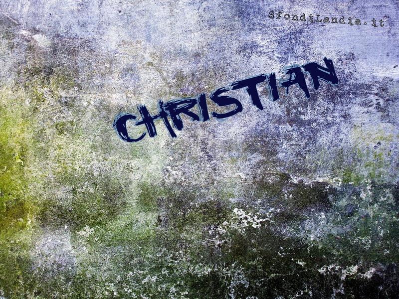 Sfondo gratis di christian per desktop - Christian cartoni animati immagini ...