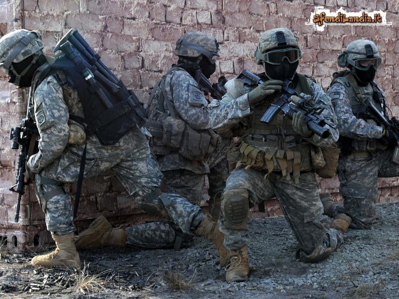 Soldati appostati
