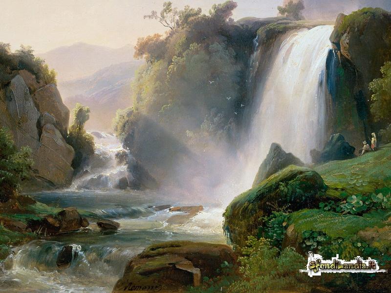 Tivoli Waterfall