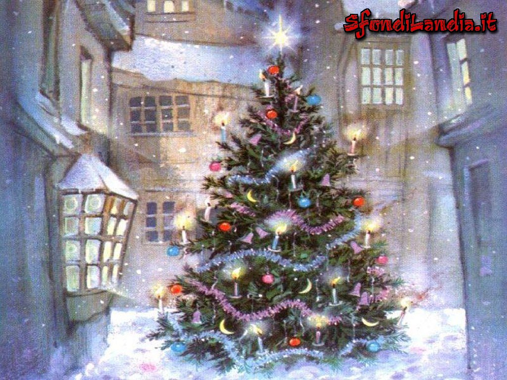 Sfondi Natale Hd Per Iphone.Sfondilandia It Sfondo In Hd Gratis Di Natale In Paese Per Pc Desktop E Smartphone Android E Iphone In Risoluzione 1024x768