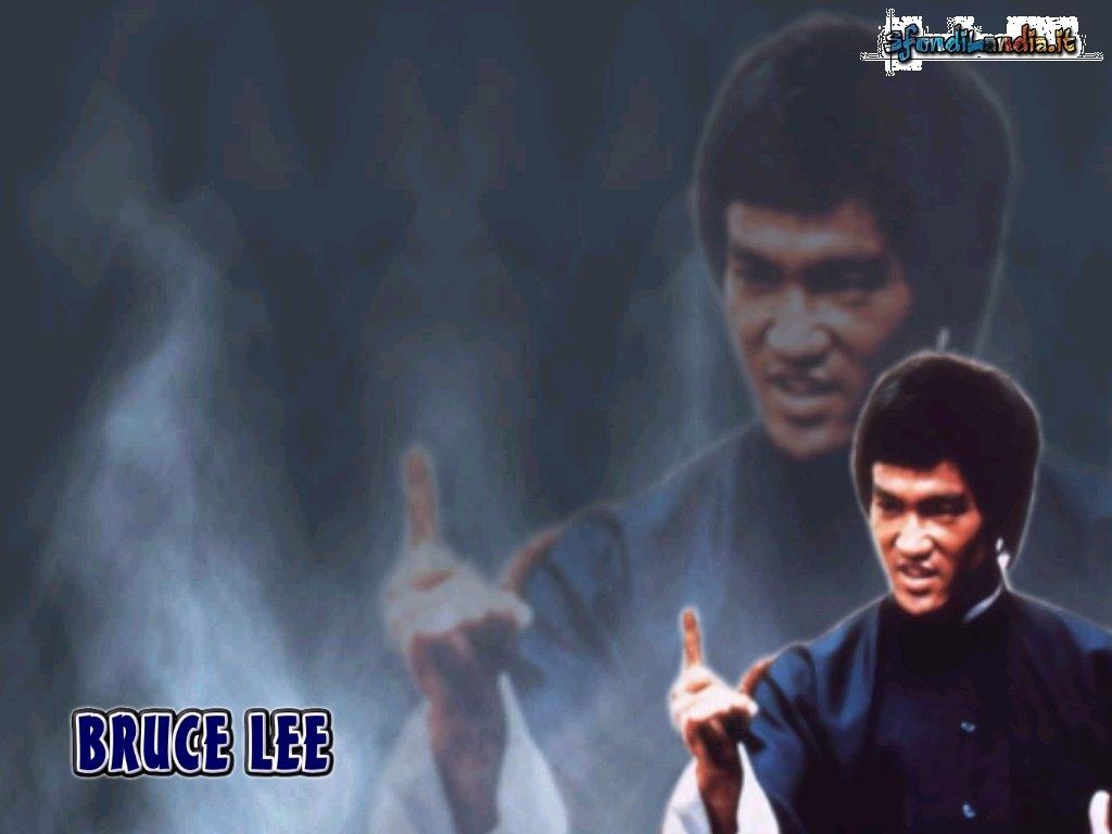 Sfondo Desktop 1024x768: Bruce Lee Menace