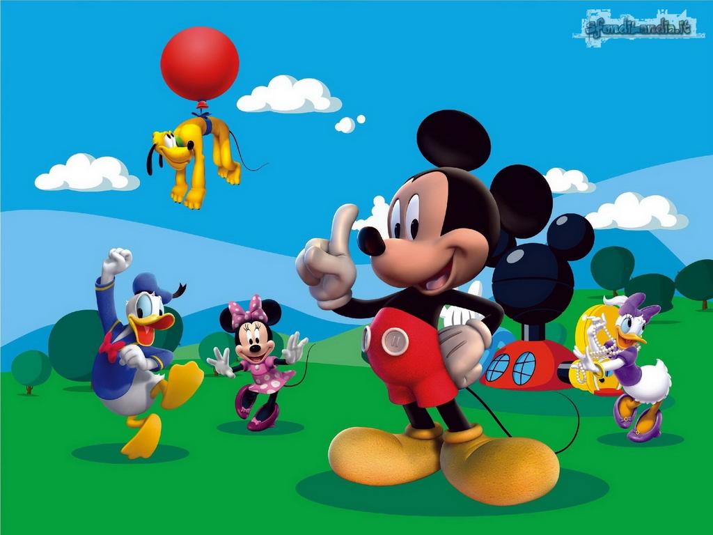 Sfondilandia sfondo gratis di la casa di topolino per desktop