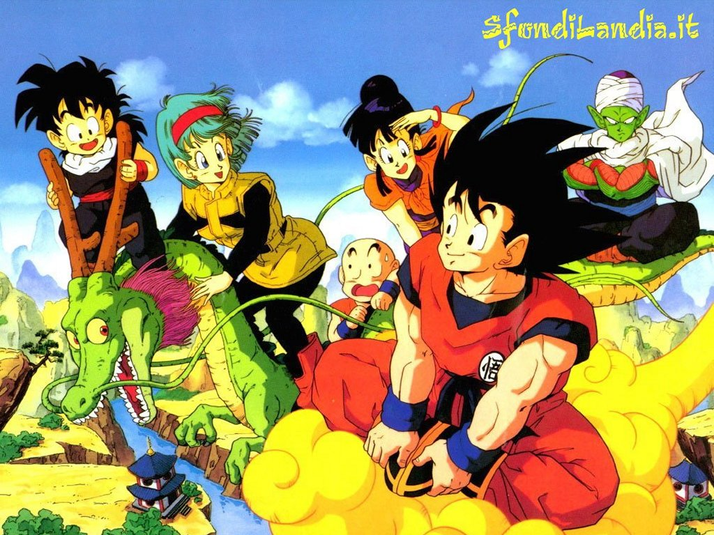 Dragonball And Friend