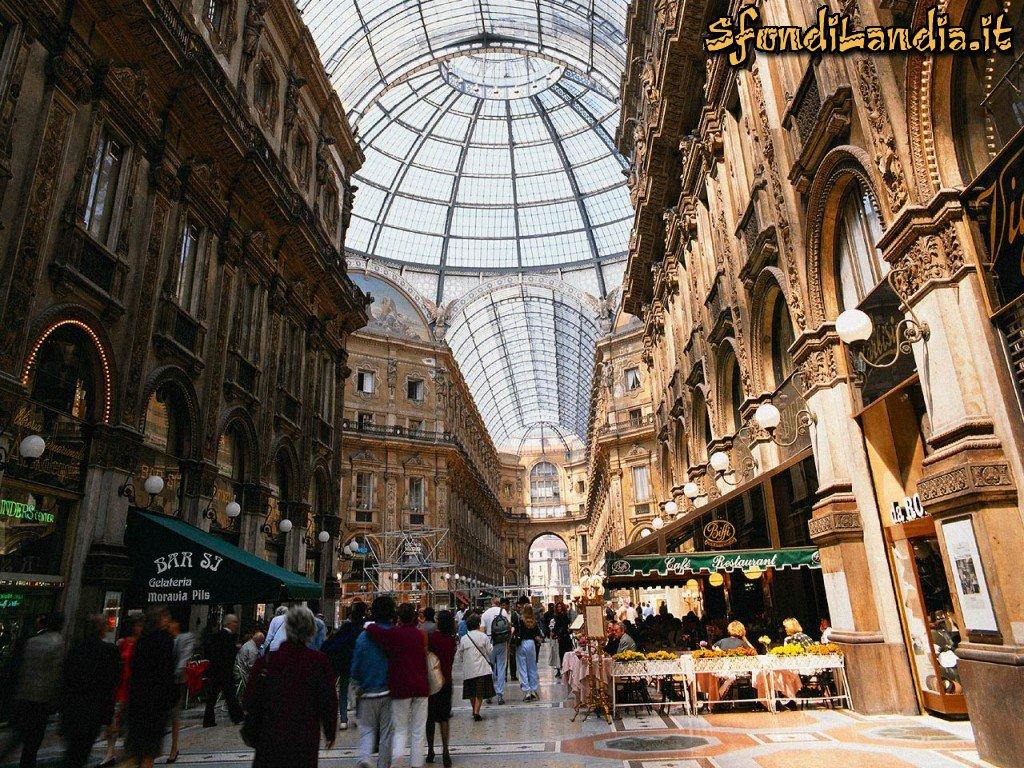 Sfondilandiait Sfondo Gratis Di Galleria Di Milano Per Desktop