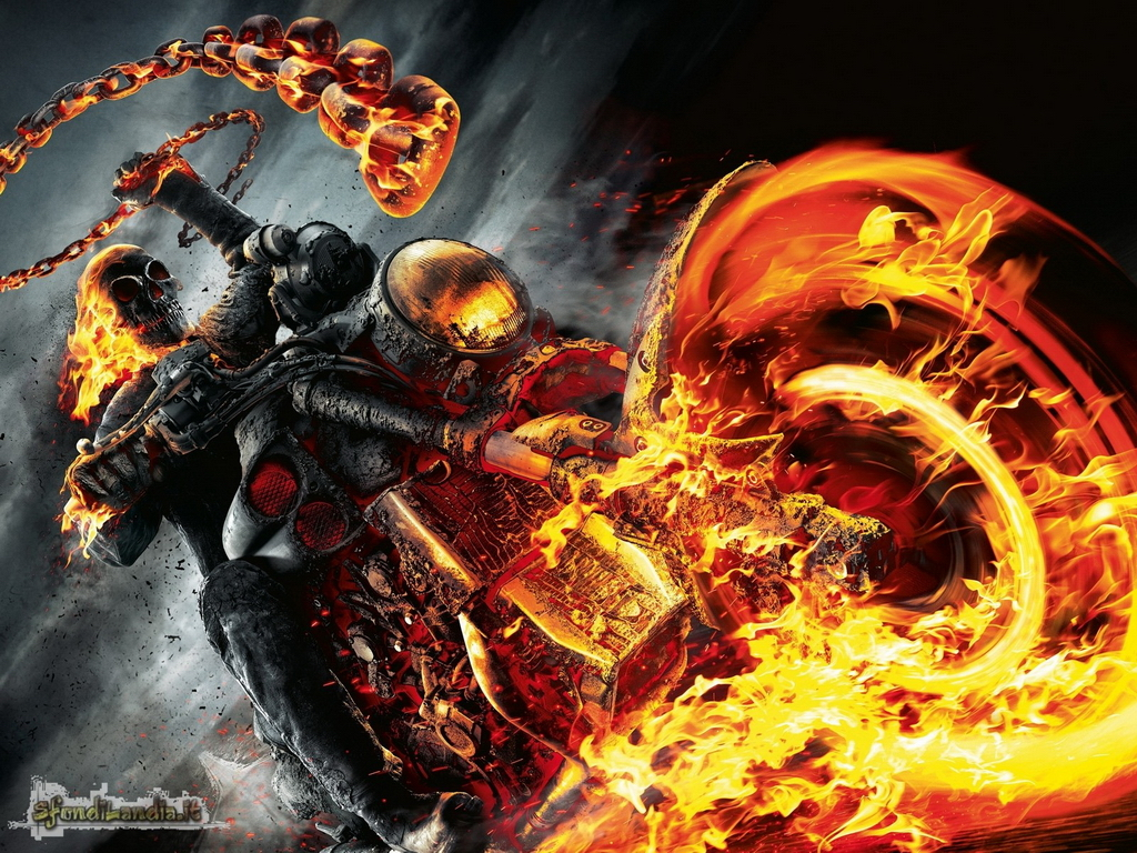 Ghost Rider On The Road