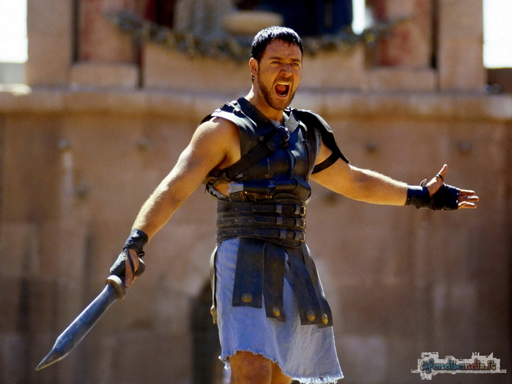 Movies Gladiator Movie Russell Crowe 1439x1403 Wallpaper: IL GLADIATORE Su IL MIO CINEMA