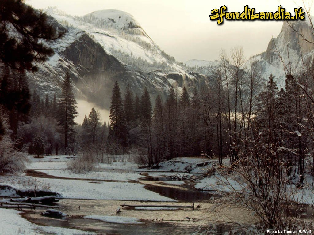 Sfondo gratis di inverno per desktop for Sfondilandia mare