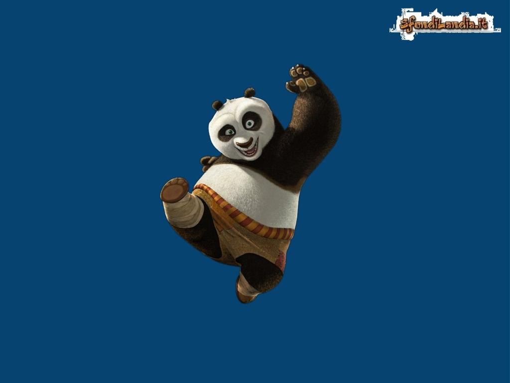 Sfondilandia sfondo gratis di kung fu panda per