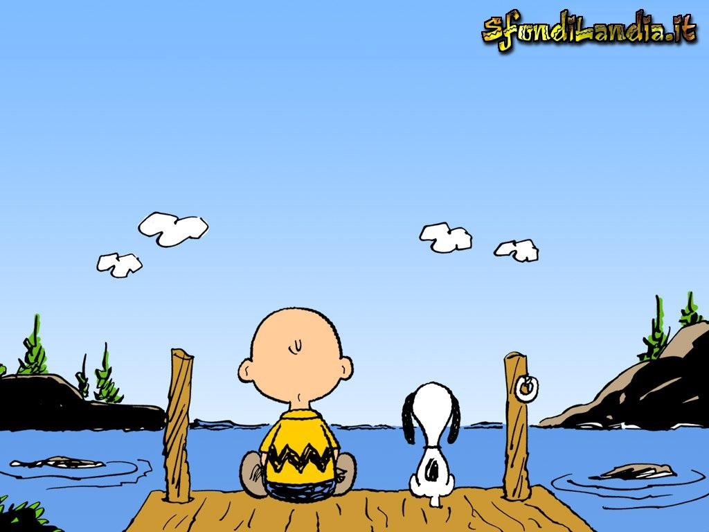 Sfondo gratis di linus and snoopy per for Immagini snoopy gratis