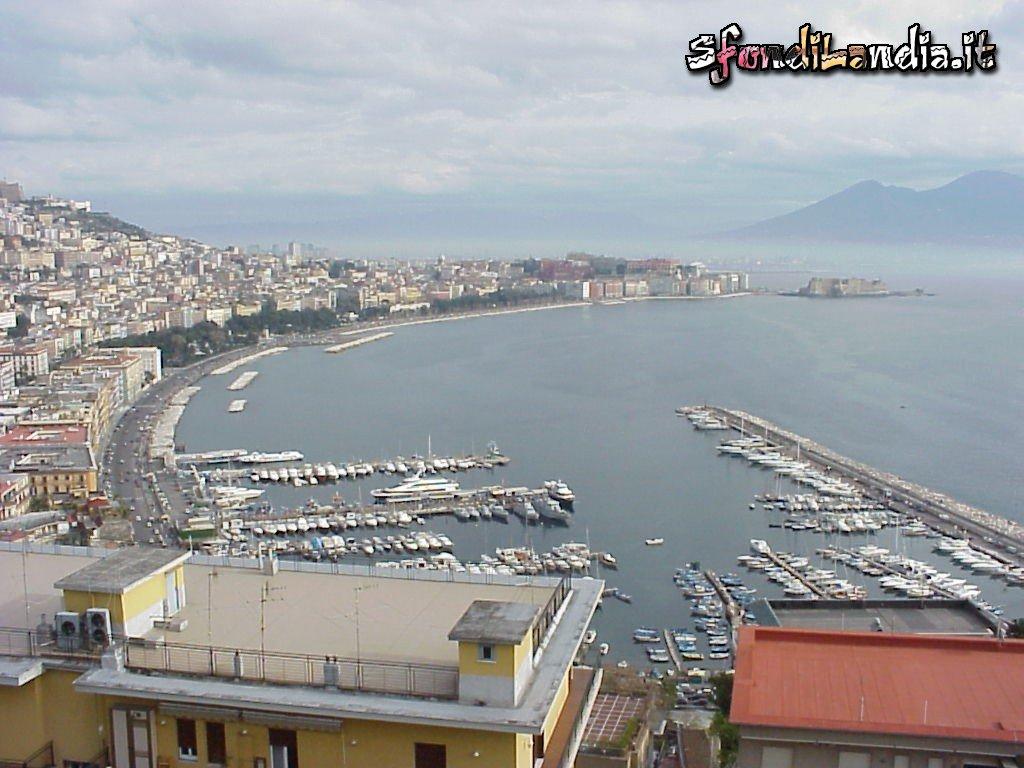 Sfondilandiait Sfondo Gratis Di Golfo Di Napoli Per Desktop