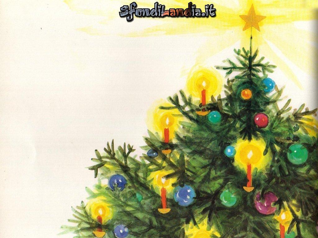 Sfondo gratis di albero di natale per for Sfondi natale 3d