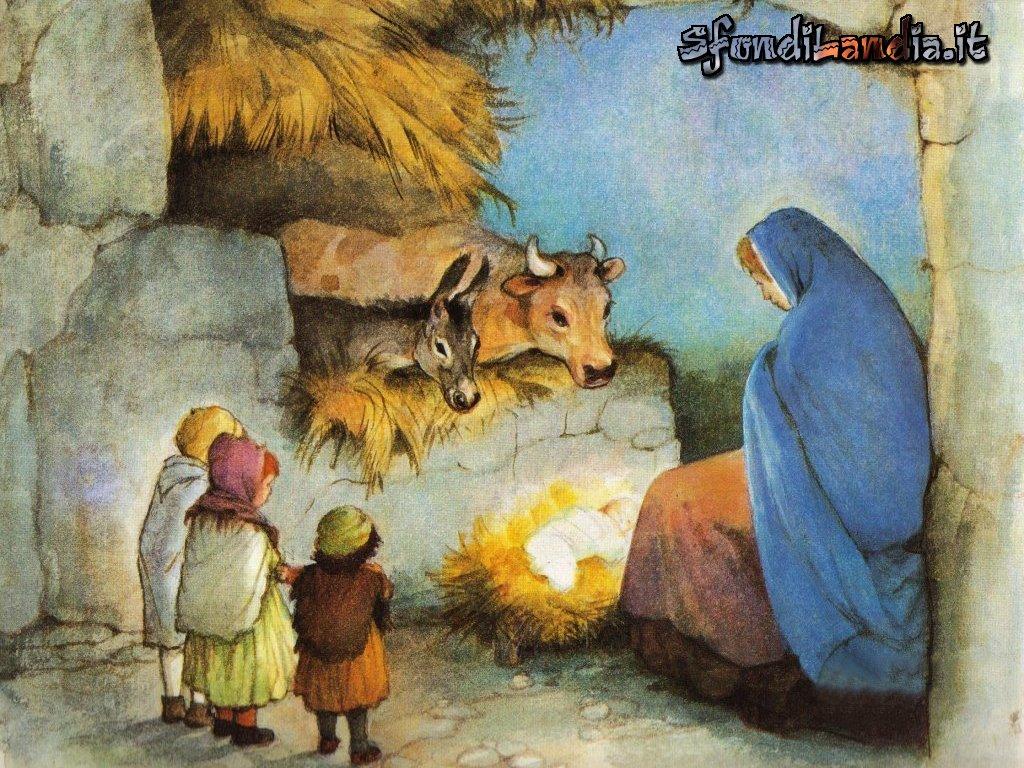 Sfondo gratis di nativity per desktop for Natale immagini per desktop