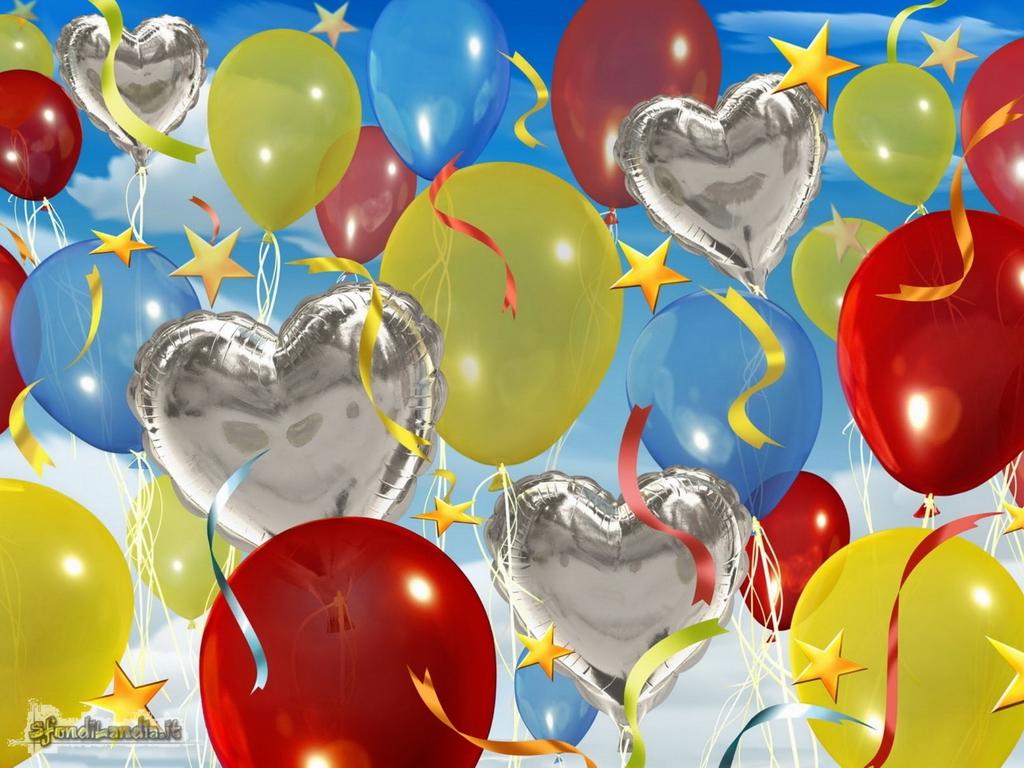 Sfondo gratis di palloncini per desktop - Immagine con palloncini ...
