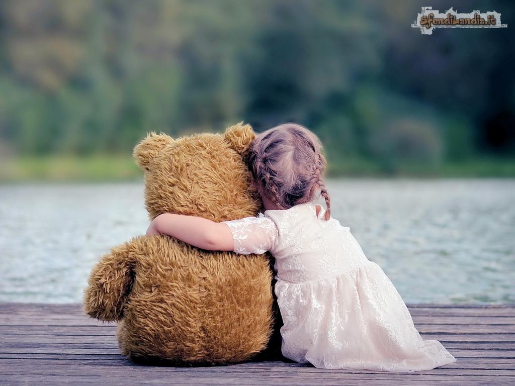 Bear And Little Girl