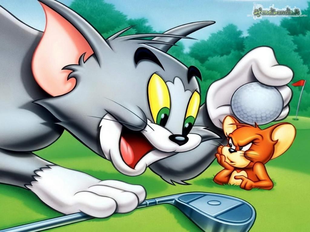 Sfondo Desktop 1024x768: Tom And Jerry