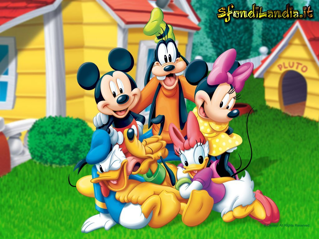 Walt disney topolino mickey mouse