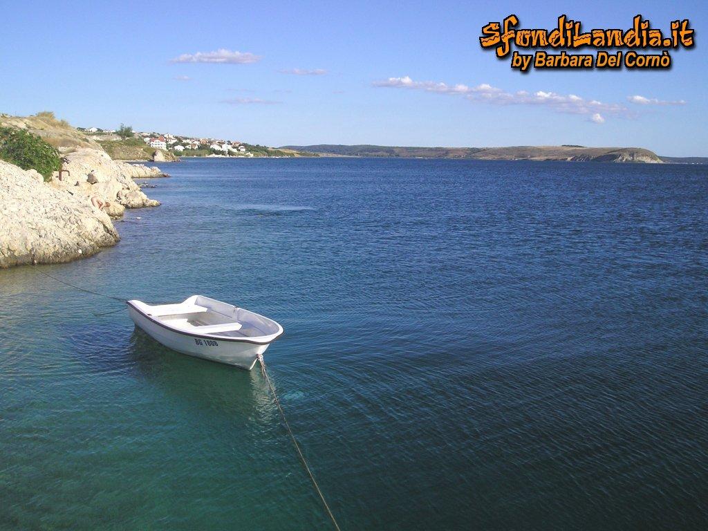 Sfondo barca in mare gratis a 1024x768 per il desktop del for Sfondilandia mare