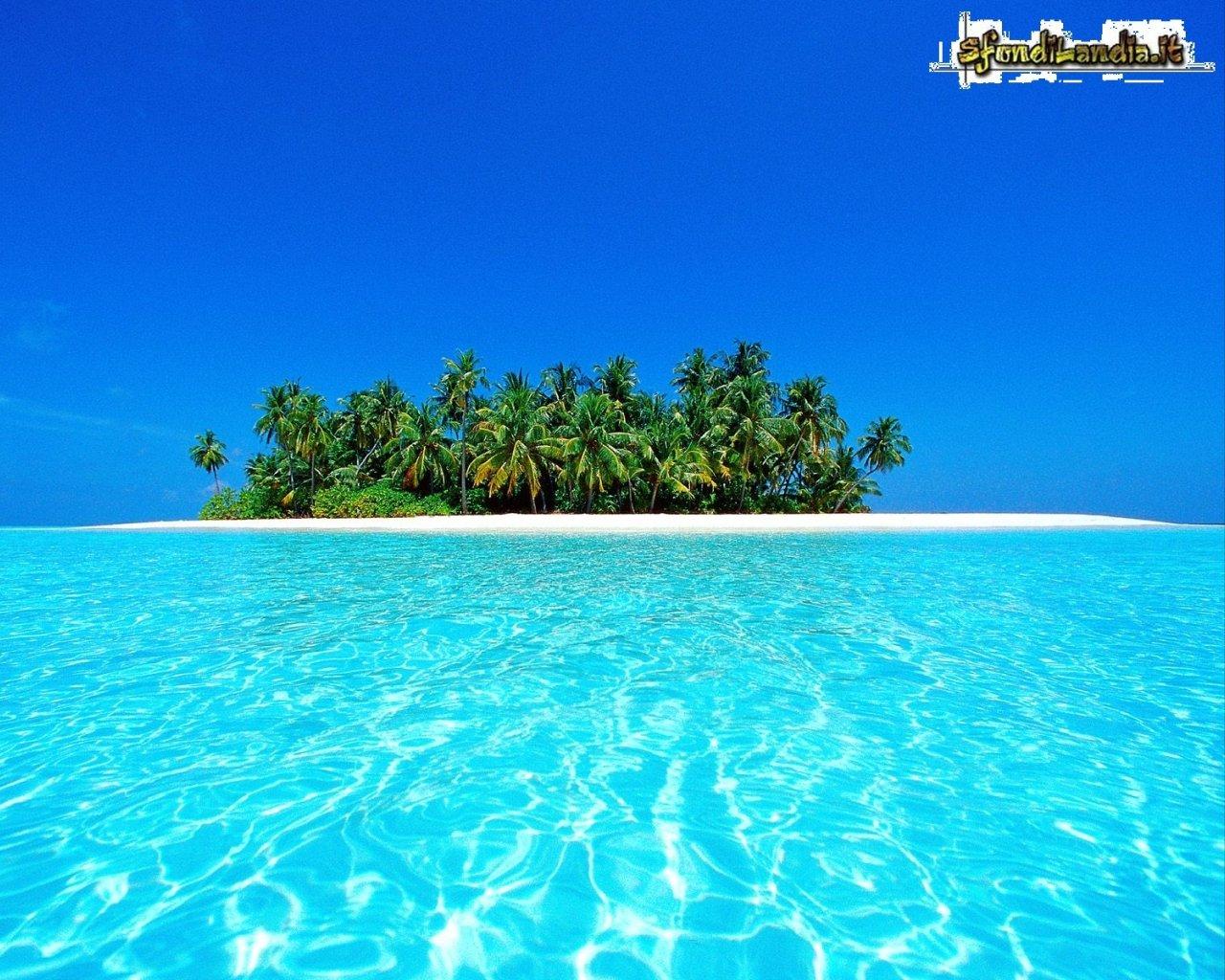 Sfondo gratis di atollo ari per desktop for Sfondilandia mare