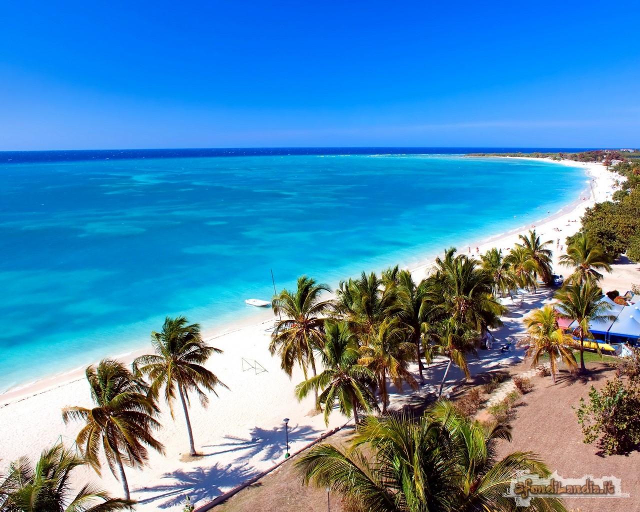 Spiaggia cubana