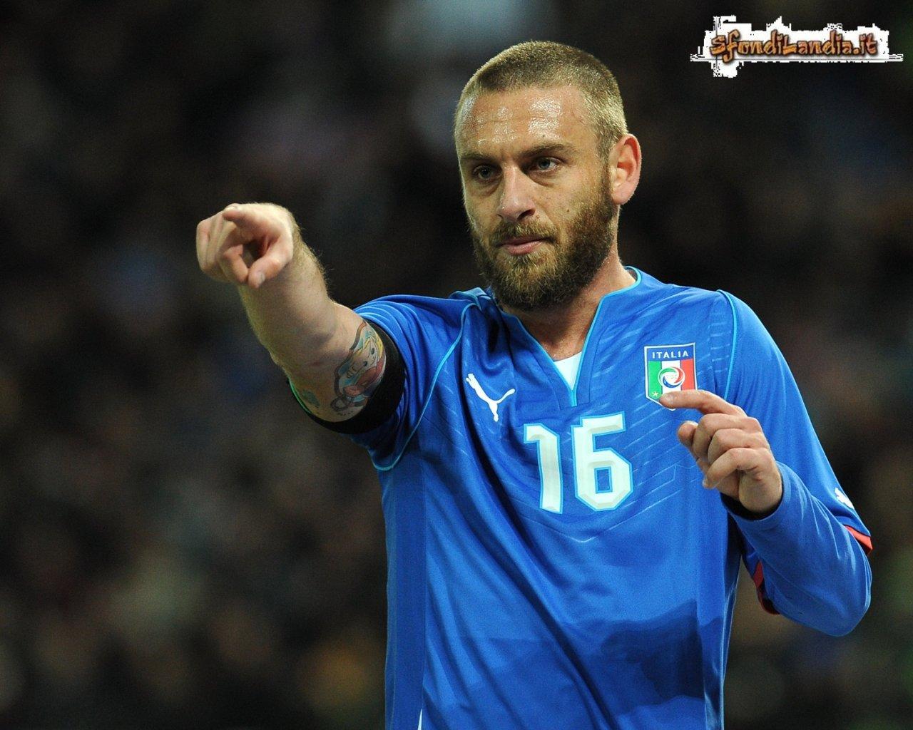 Daniele De Rossi Italia