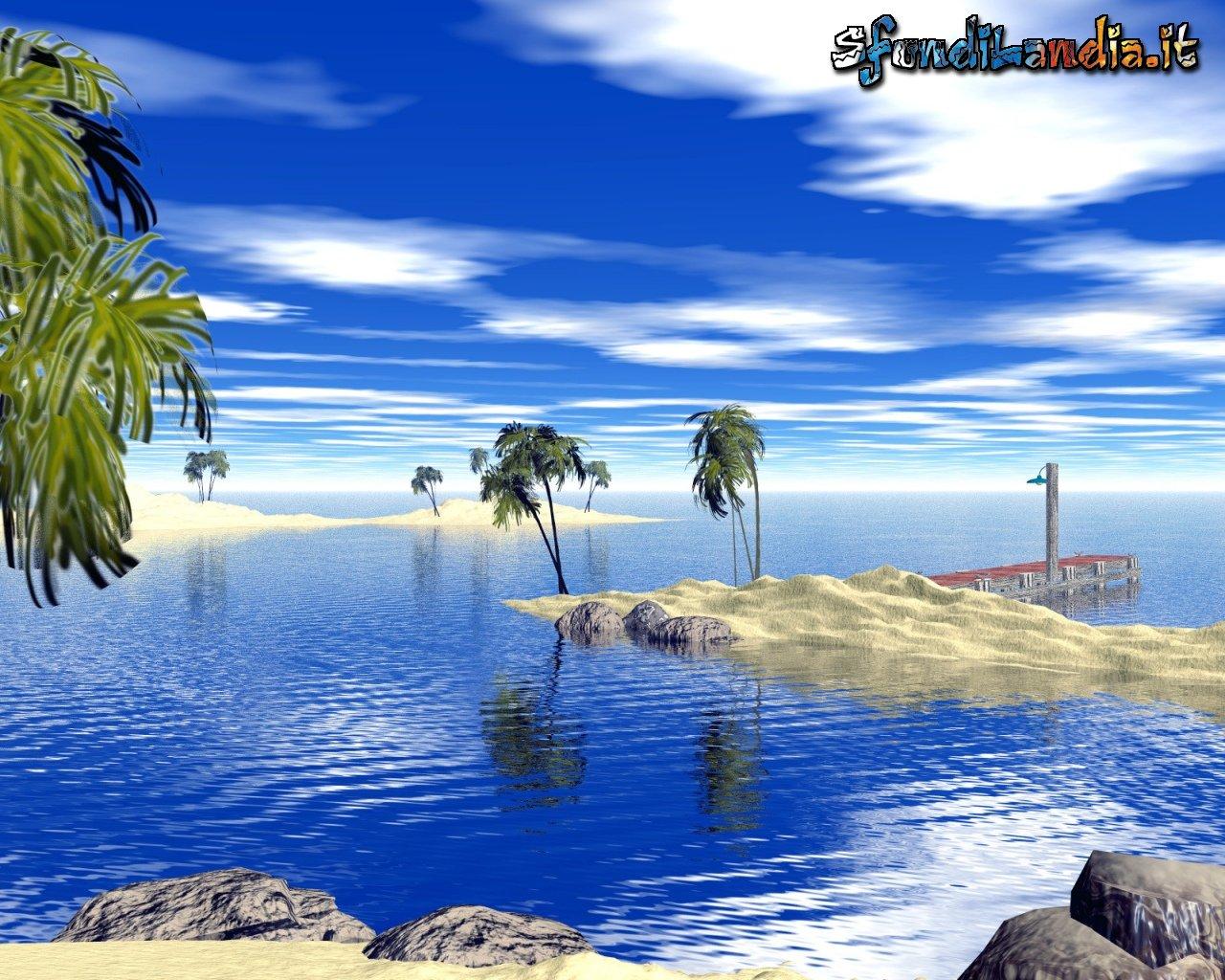 Sfondo gratis di landescape per desktop for Sfondilandia mare