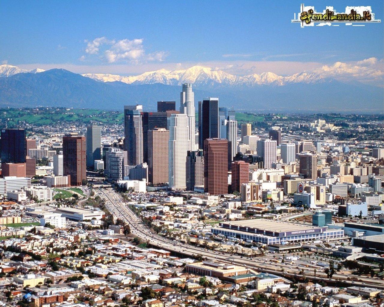 Sfondilandiait Sfondo Gratis Di Los Angeles Per Desktop