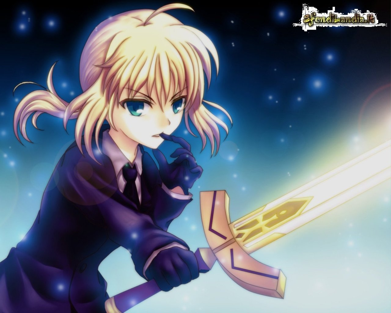 Sfondilandia It Sfondo Gratis Di Saber Fate Stay Night Per