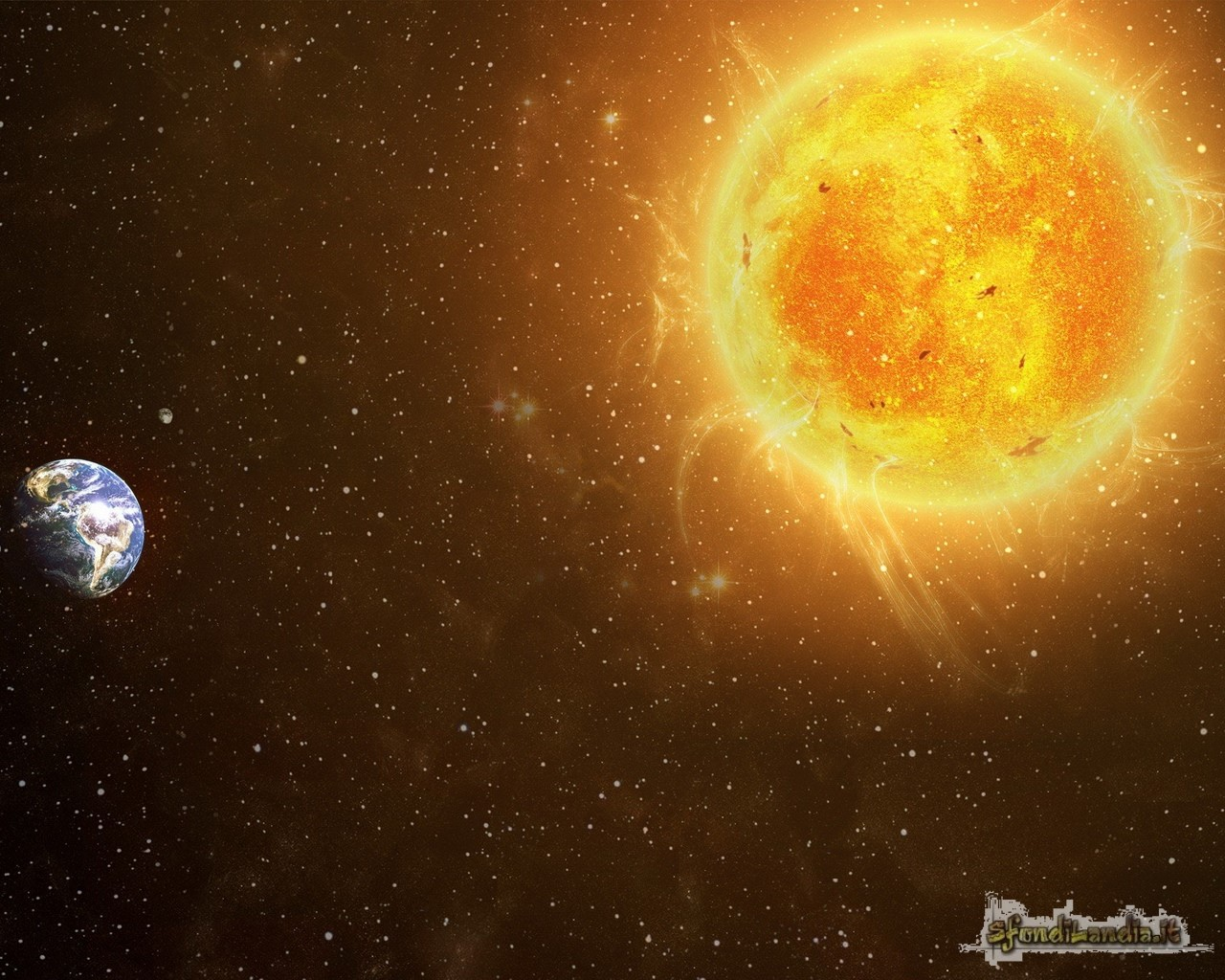 Sunny Earth