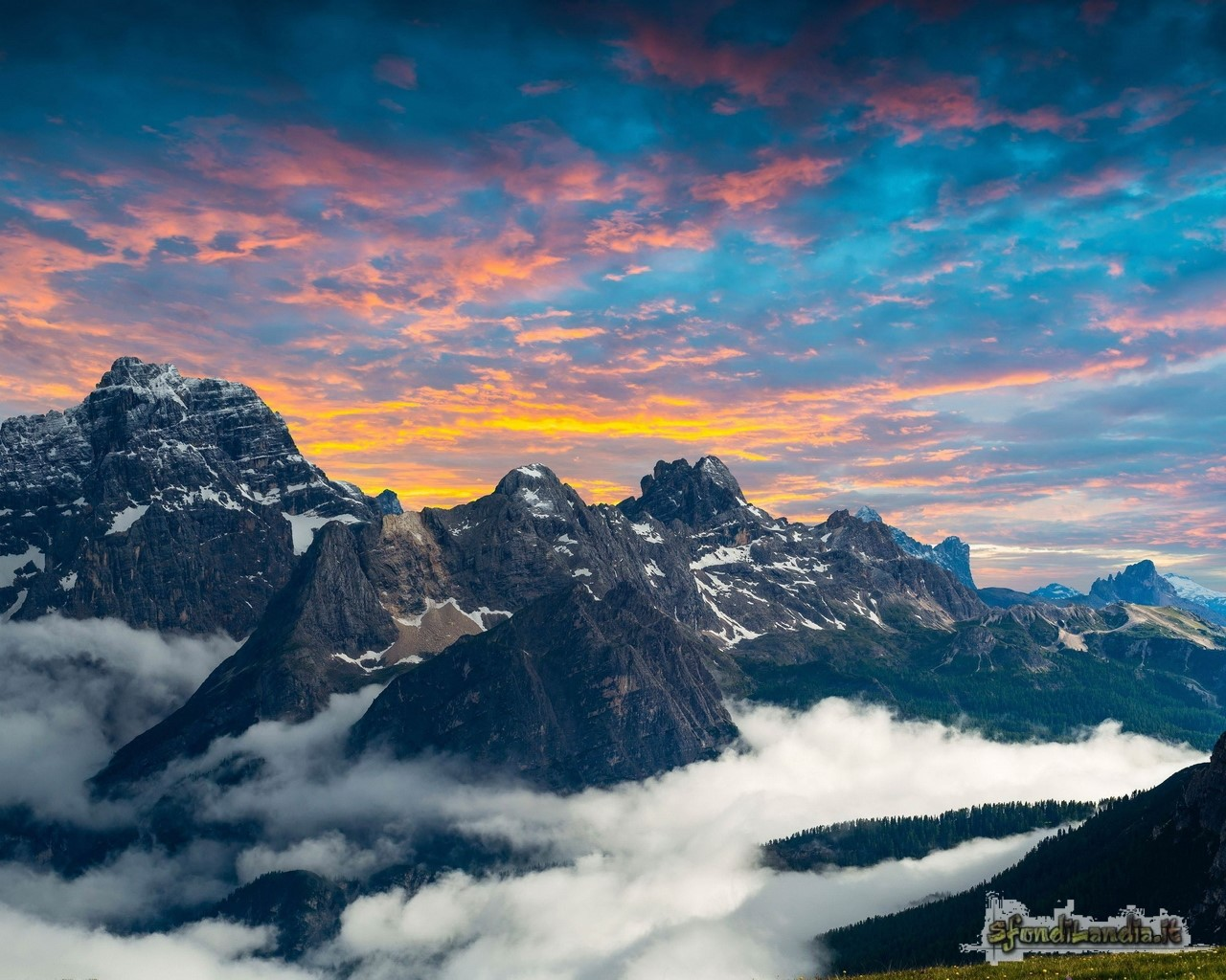 Lavaredo Mountains