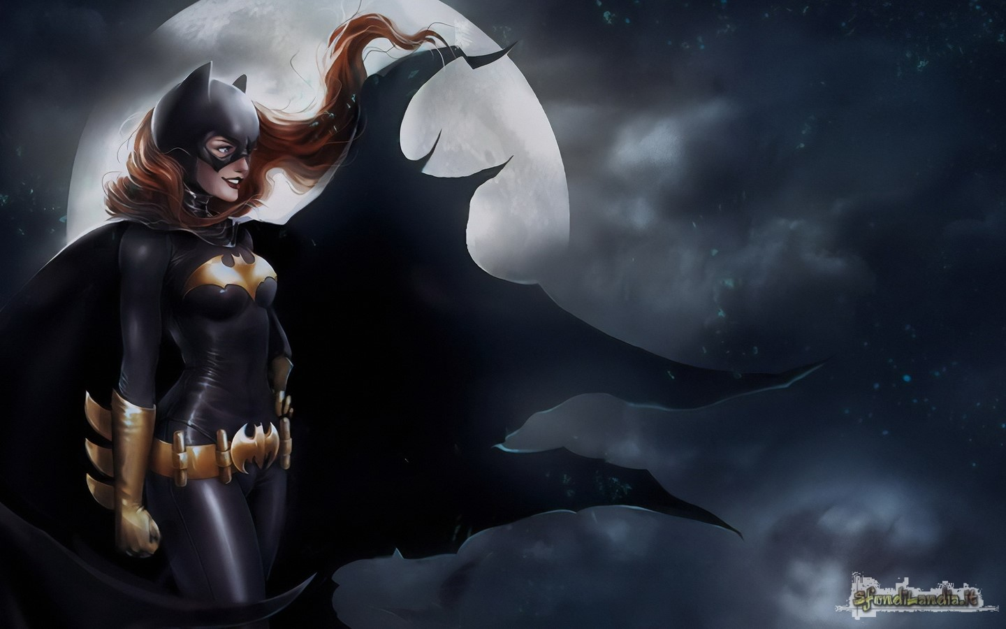 Batwoman In The Night