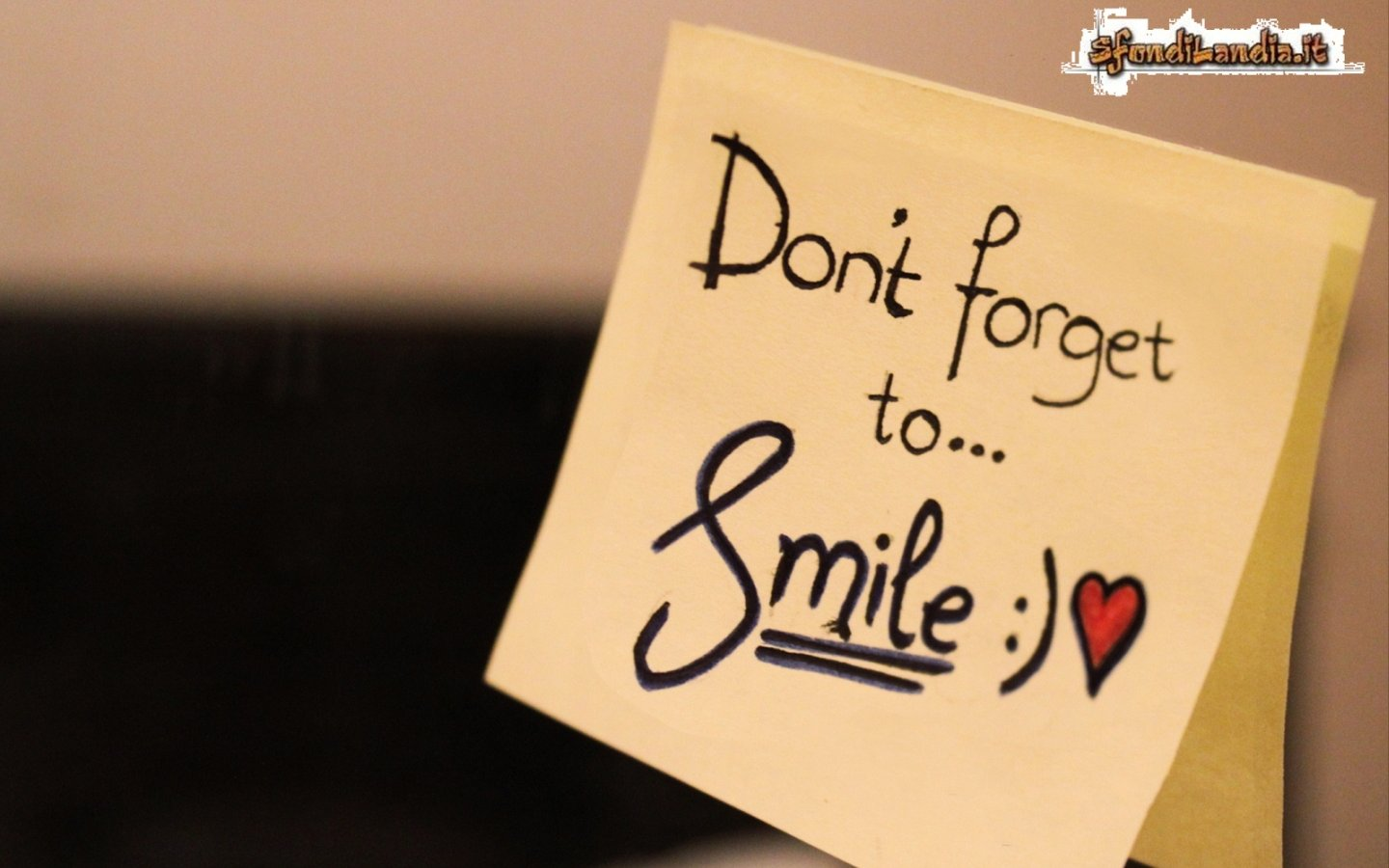 Dont Forget To Smile