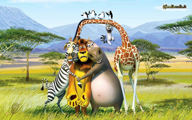 Sfondilandiait Sfondo Gratis Di Madagascar Per Desktop