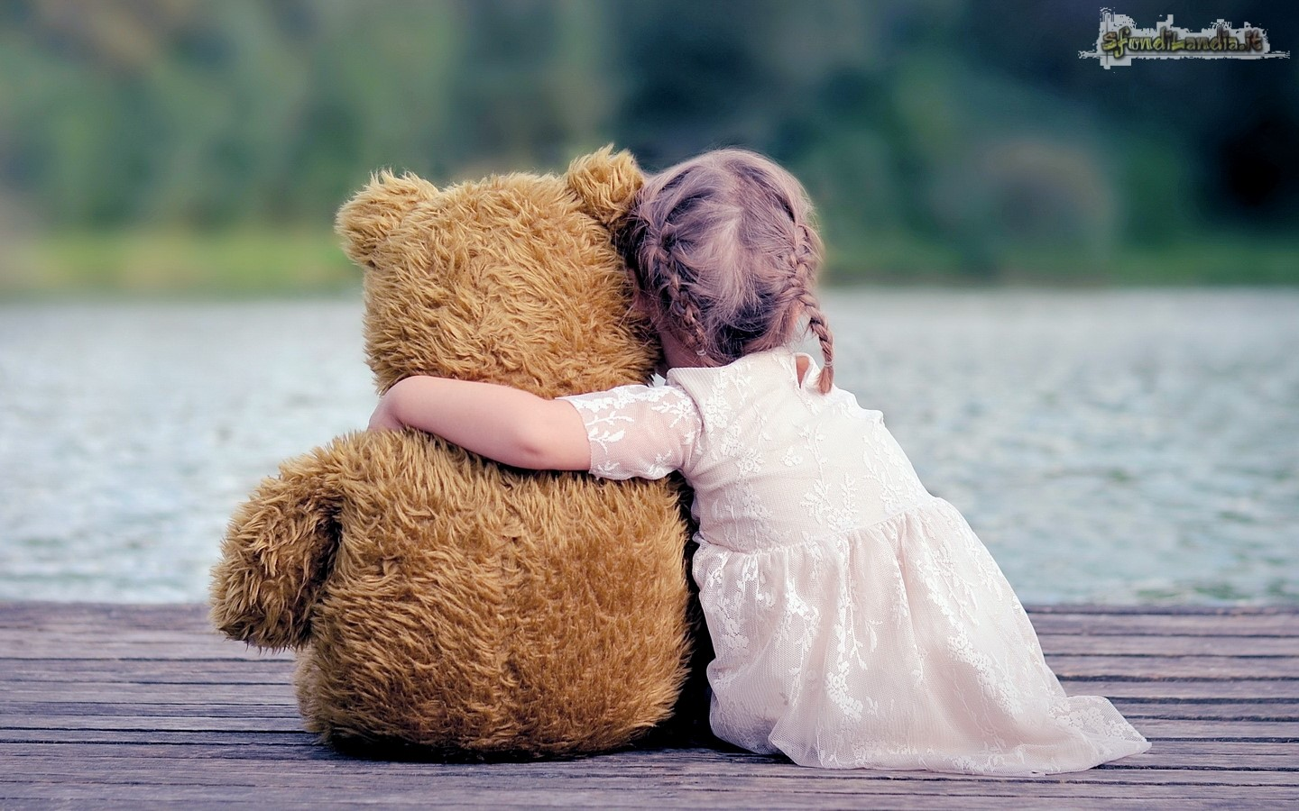 Bear And Little Girl