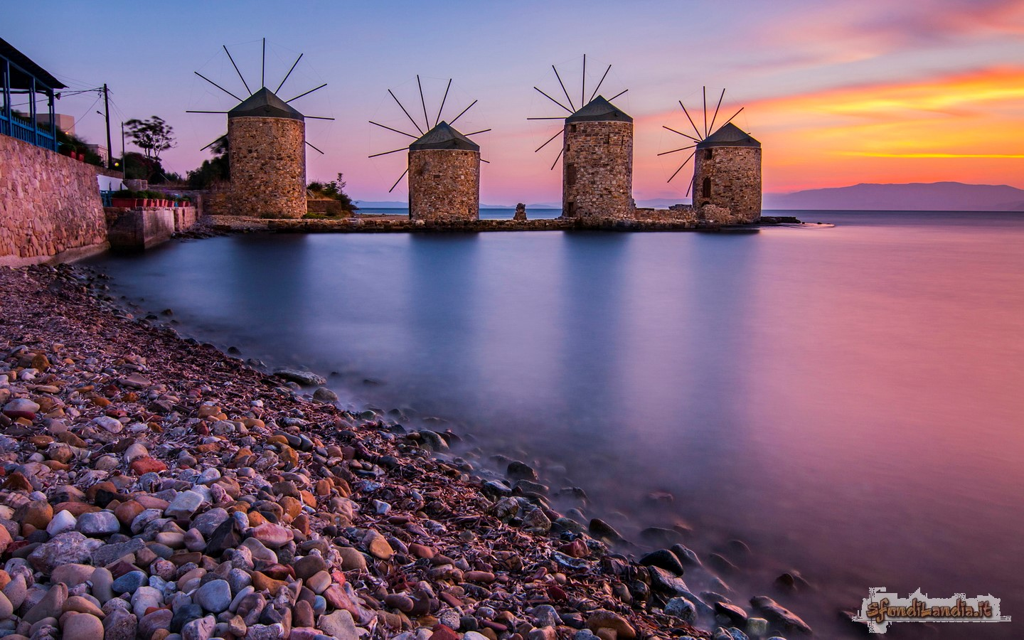 Windmills In Chios