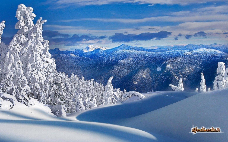 Sfondilandiait Sfondo Gratis Di Paesaggio Invernale Per Desktop