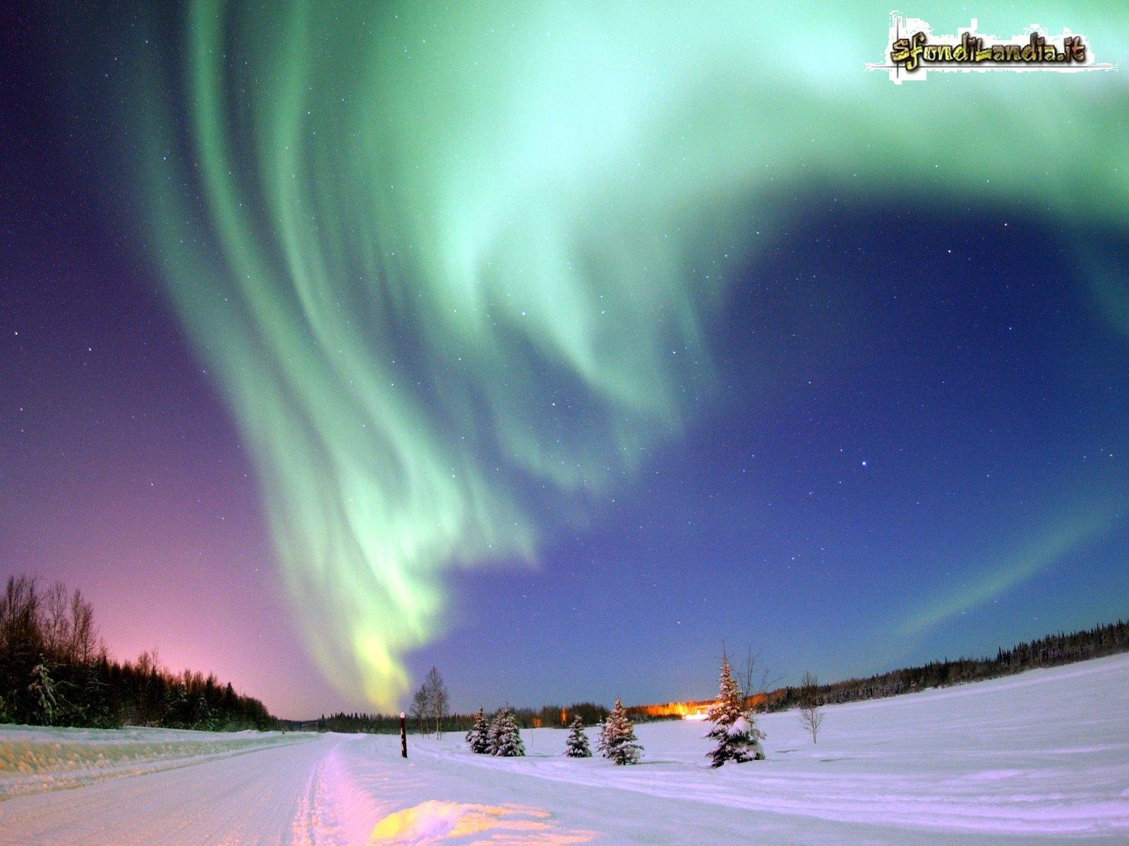 Aurora Boreale Alaska