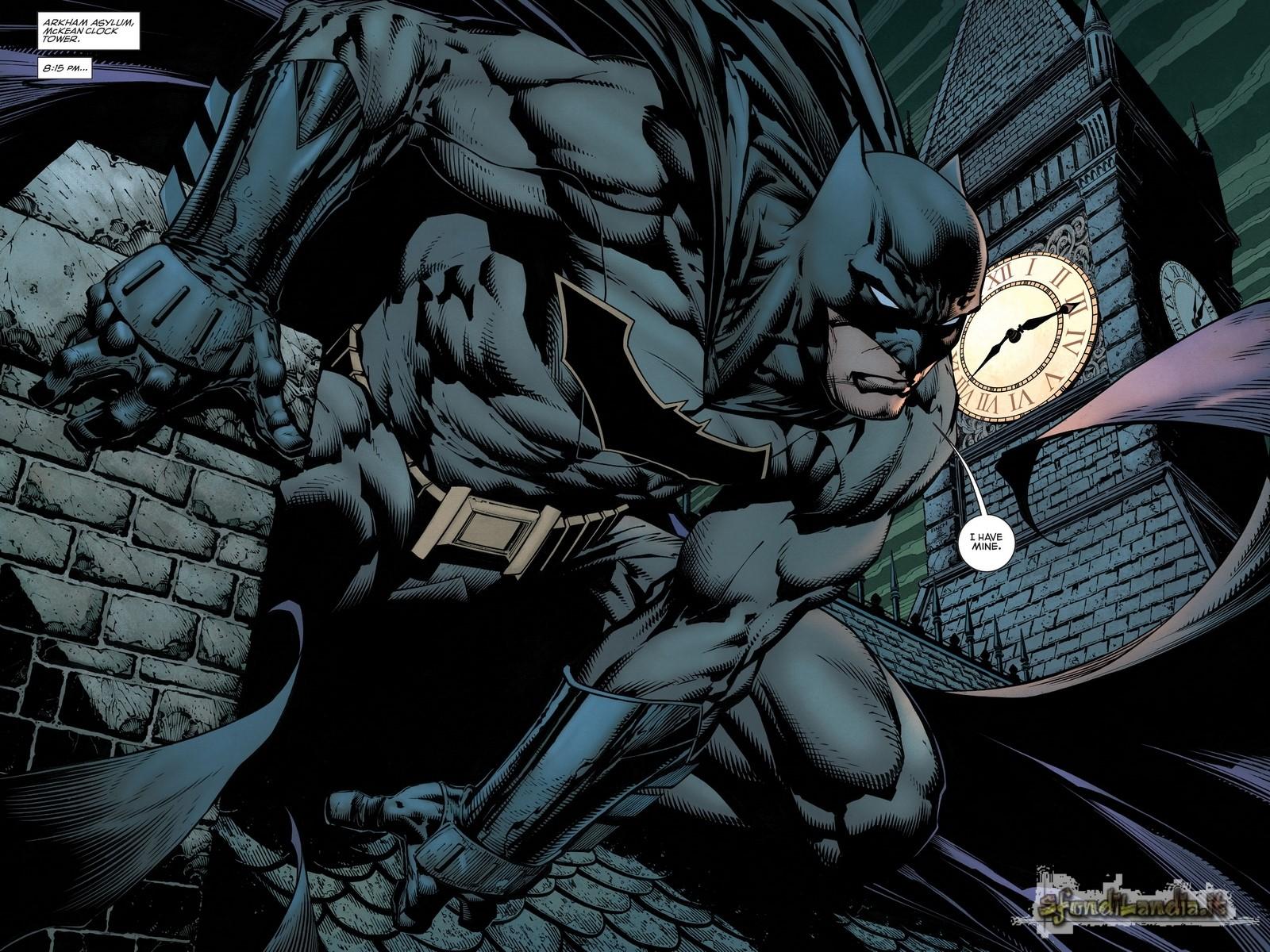Batman In The Night