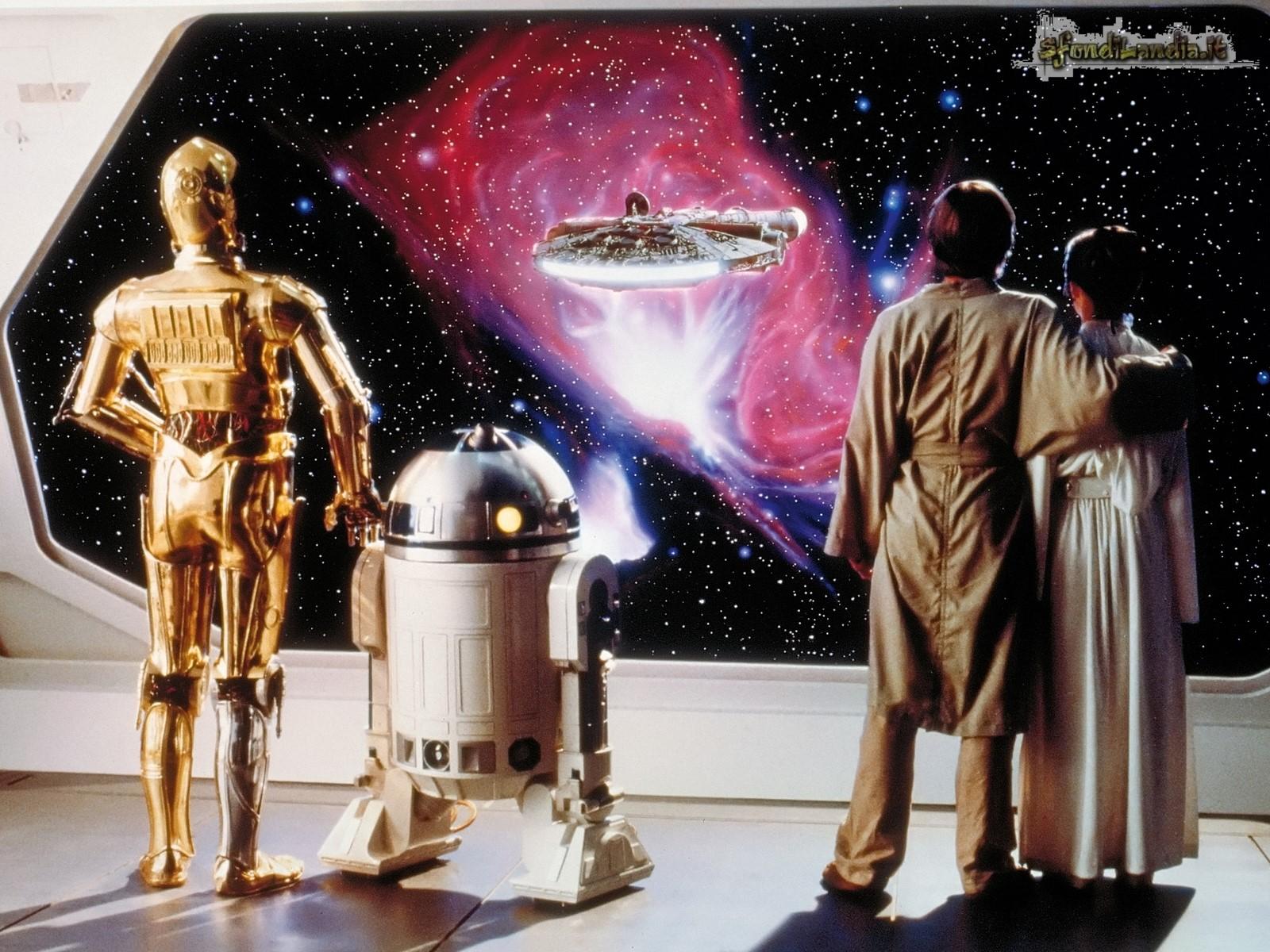 C-3PO e D2-R2