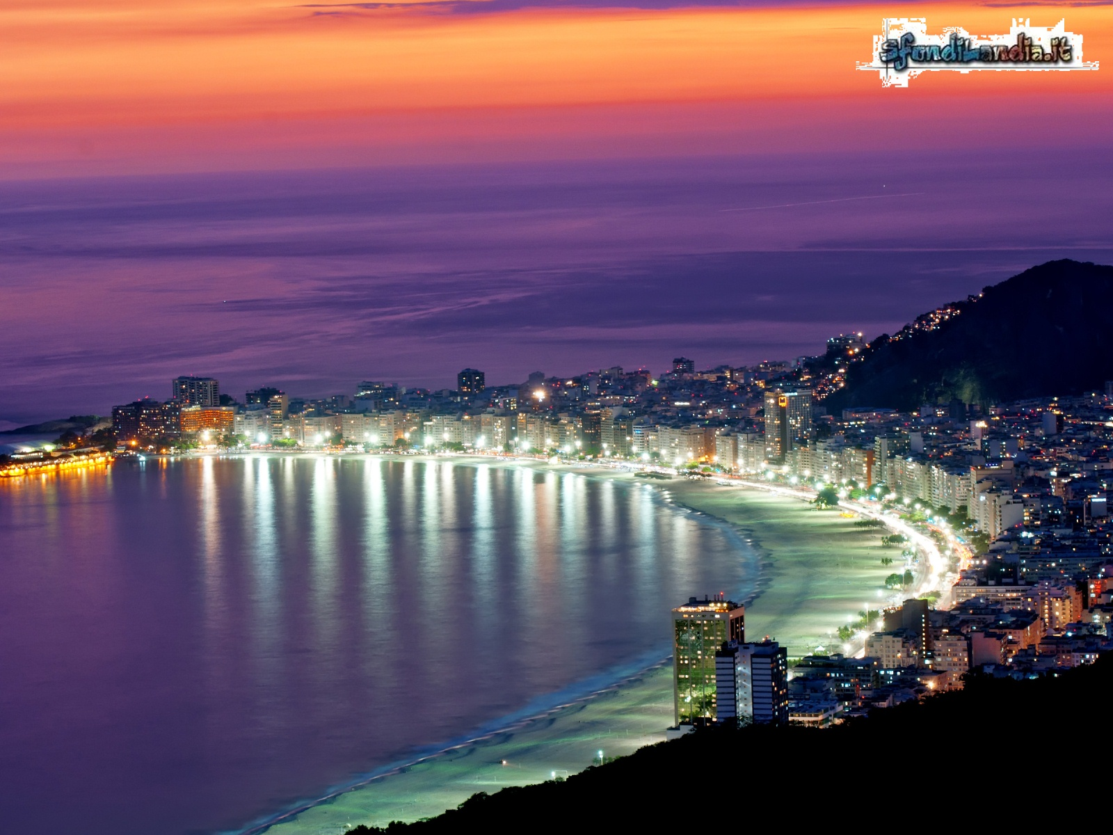 Copacabana in Rio