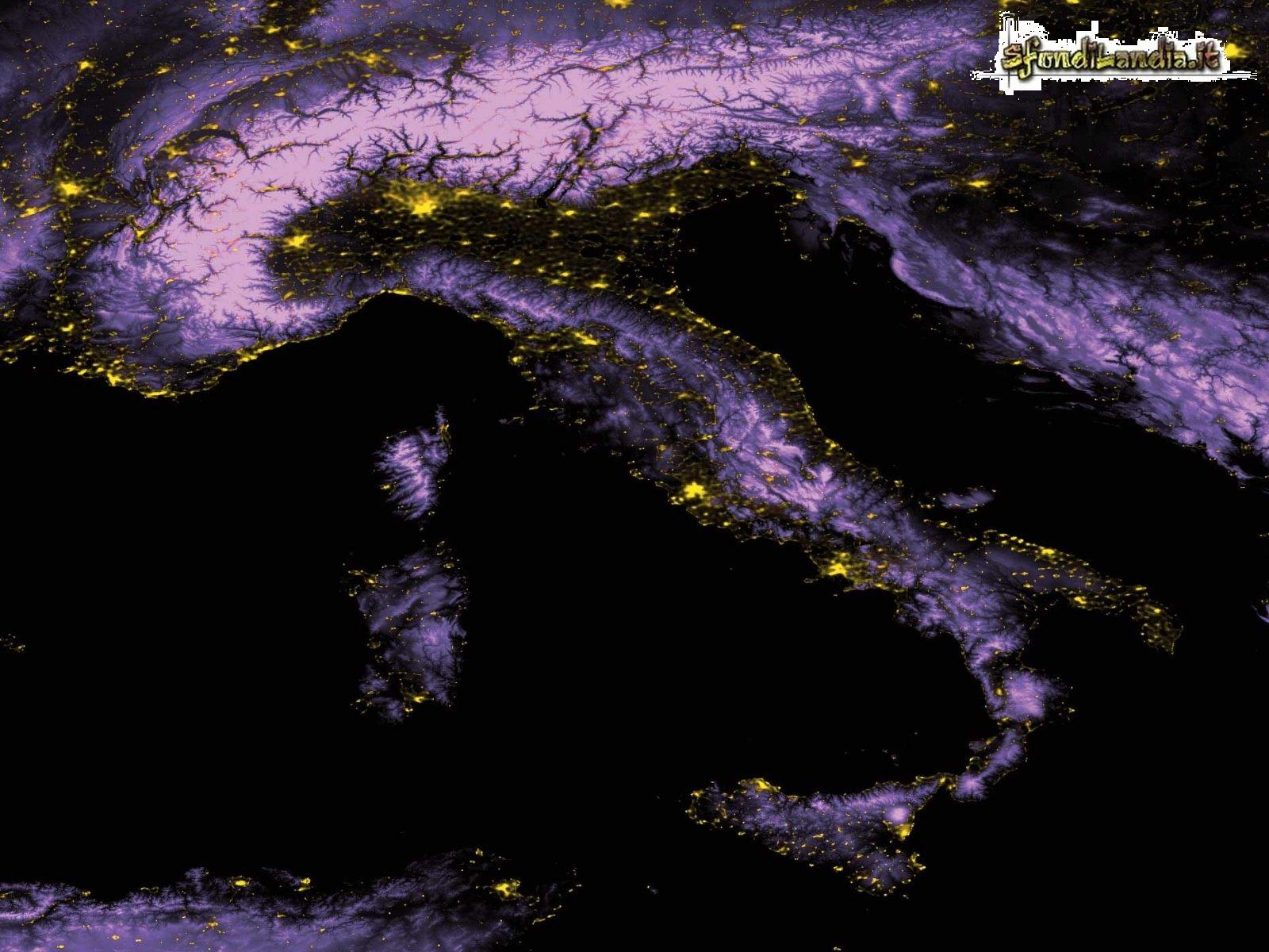 Sfondilandia sfondo gratis di italia notte per