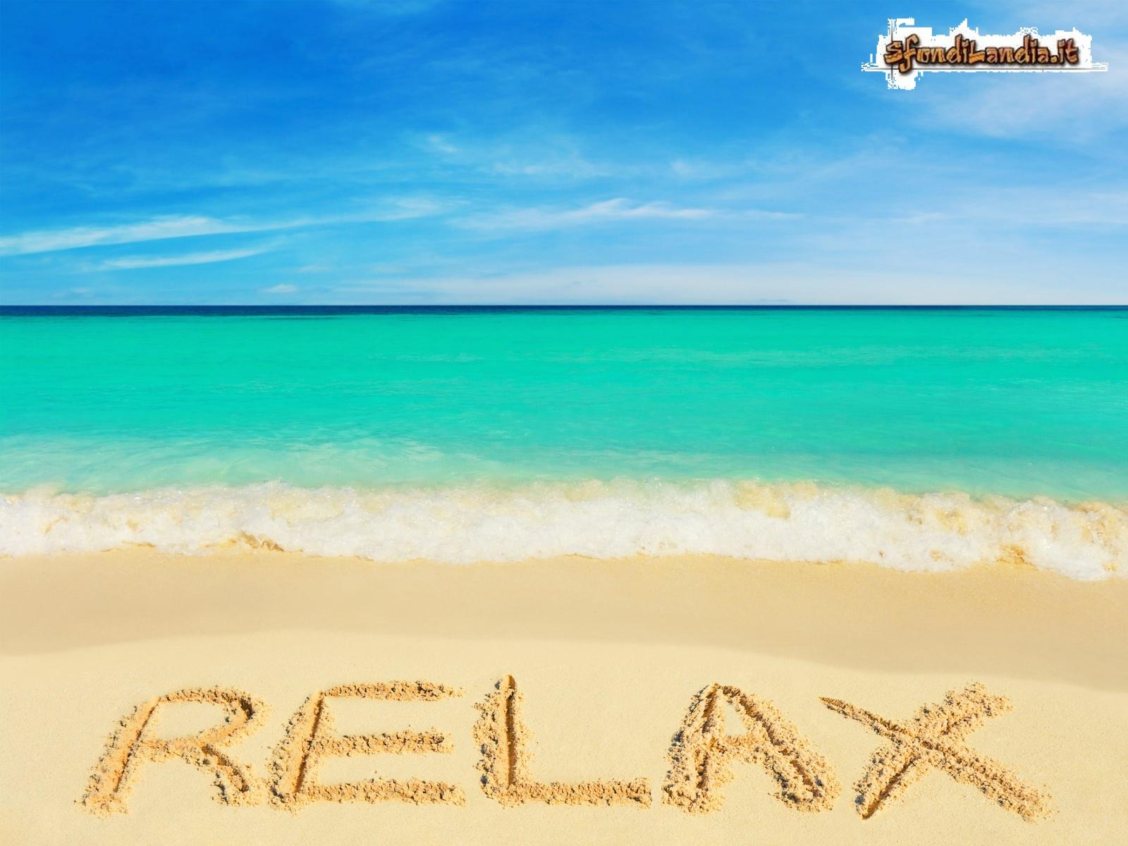 Sfondilandiait Sfondo Gratis Di Relax On Beach Per Desktop