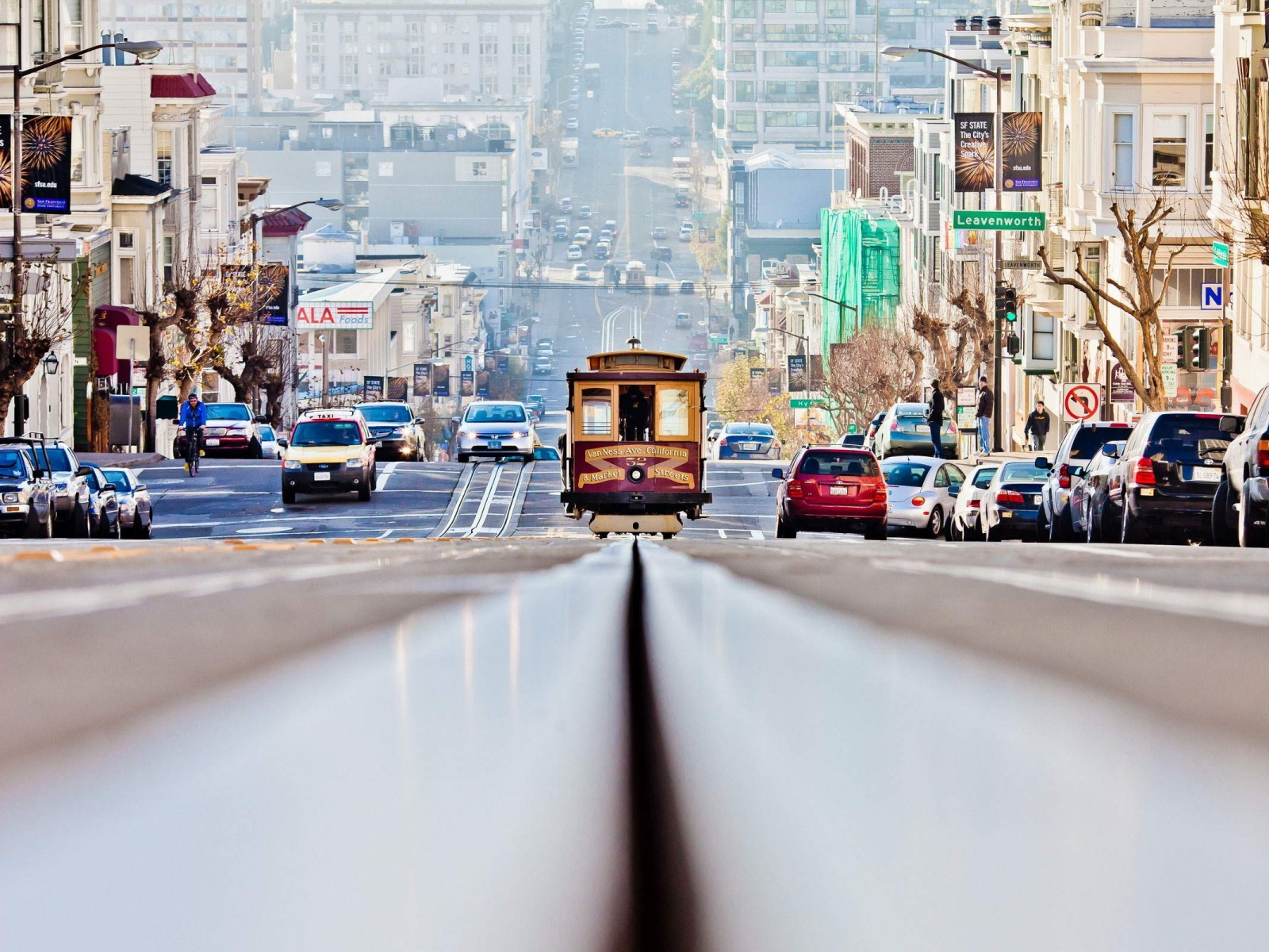 Tram in San Francisco