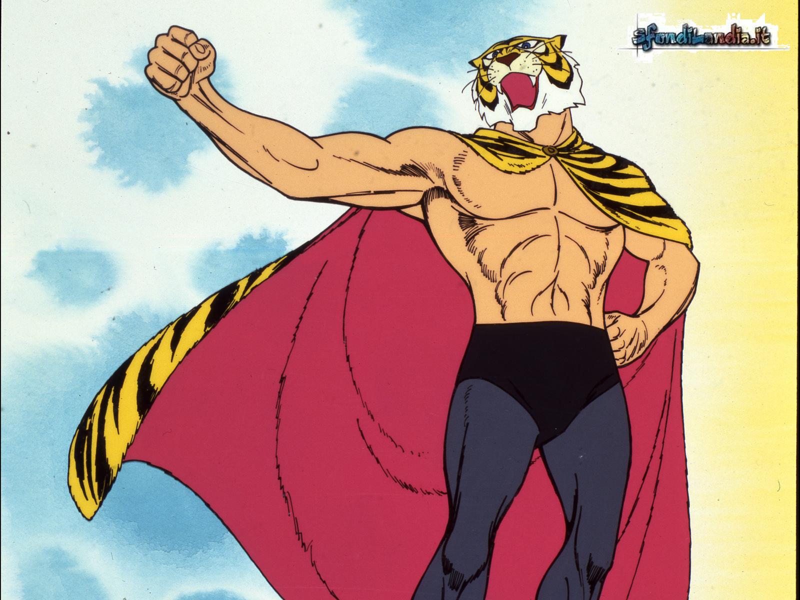 Sfondilandia sfondo gratis di tigerman per desktop