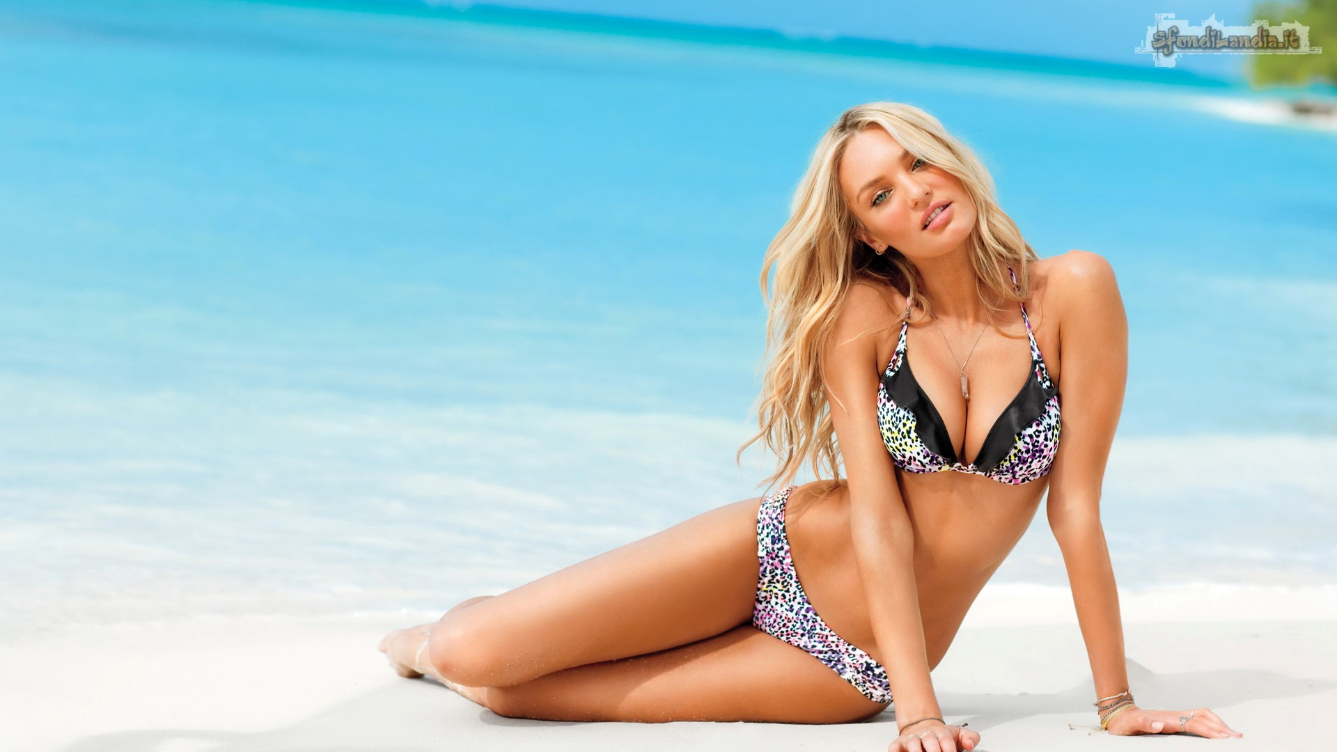 Candice On Beach